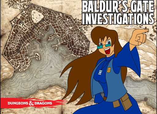 Baldur's Gate Investigations announced.